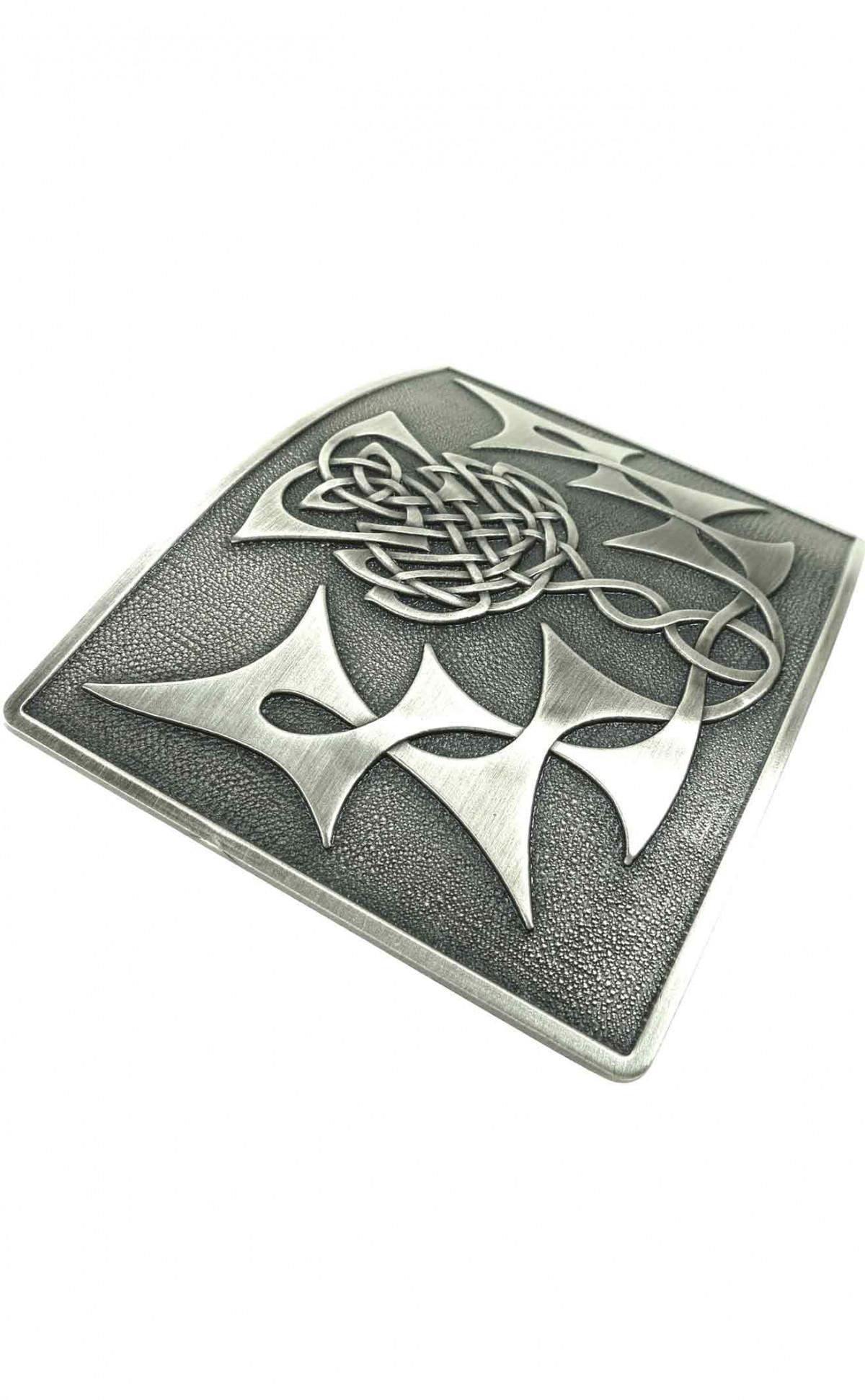 Beautiful Scottish Belt Buckle possibly silver