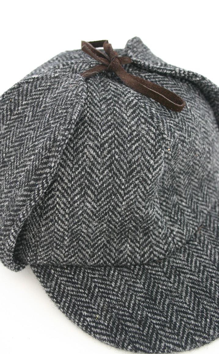 Colour: Grey Herringbone