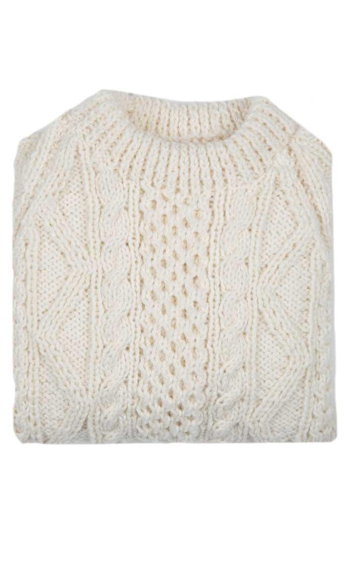 Boy/'s hand knitted Aran Waistcoats