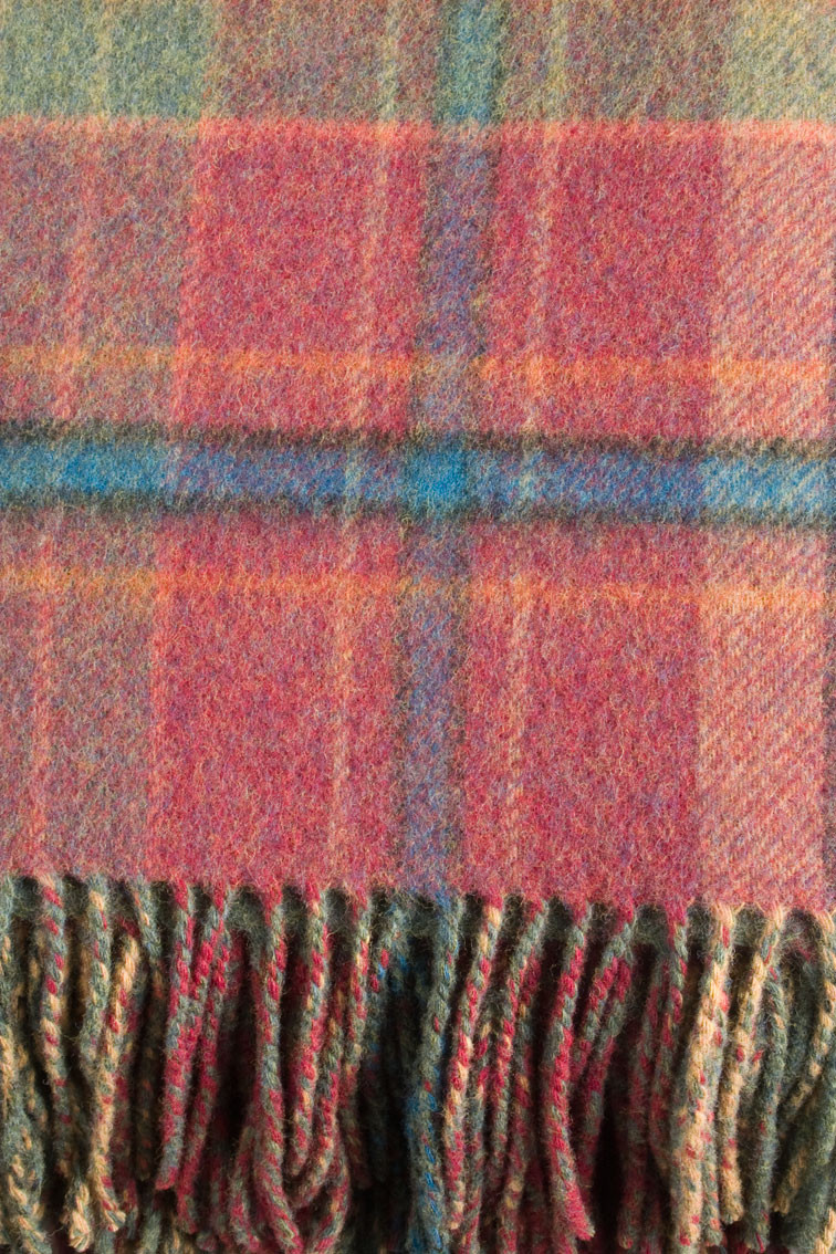 Colour: Red Tweed and Windowpane