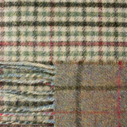 Gunclub and Windowpane Tweed