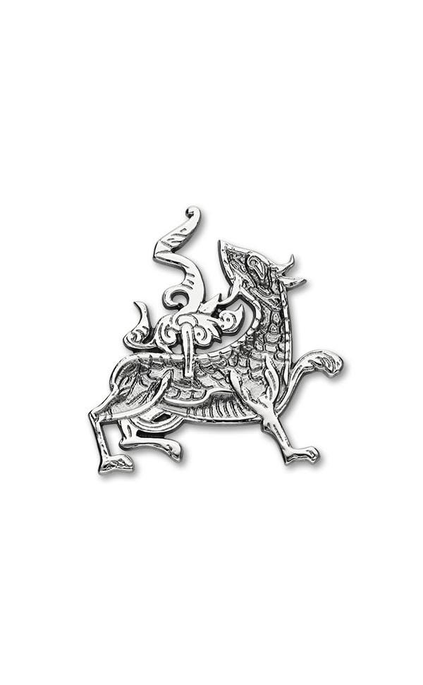 MaesHowe Dragon Brooch B604 Front