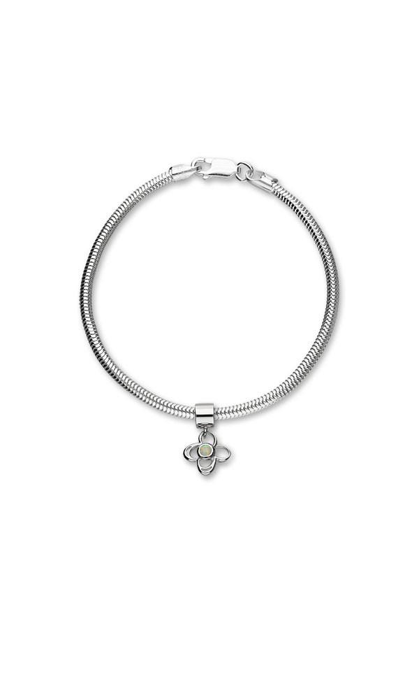 Harlequin Charm C312 On Bracelet