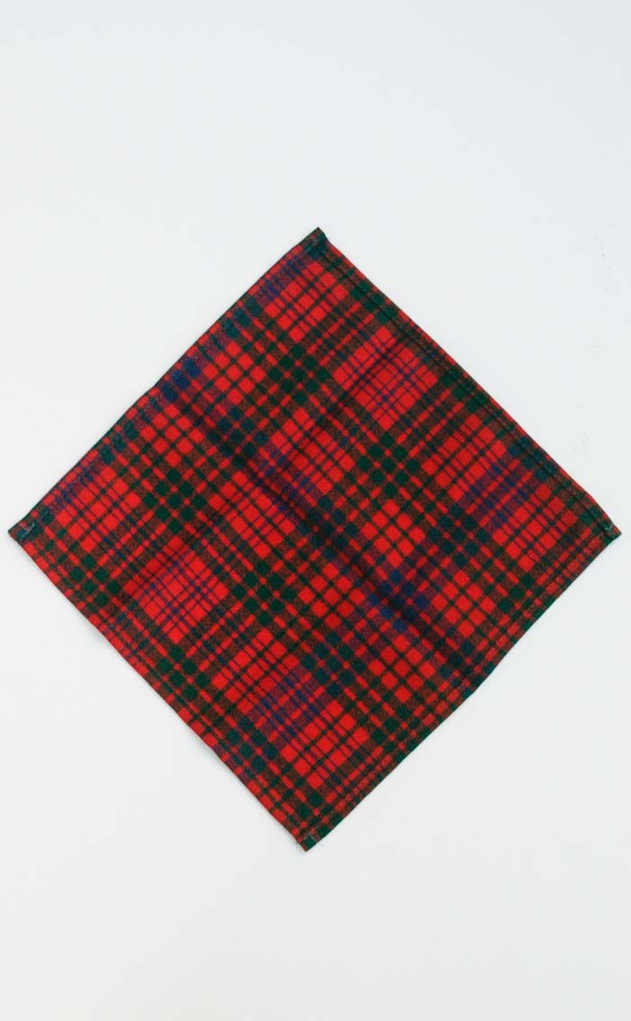 Essential Tartan Pocket Square | CLAN by Scotweb