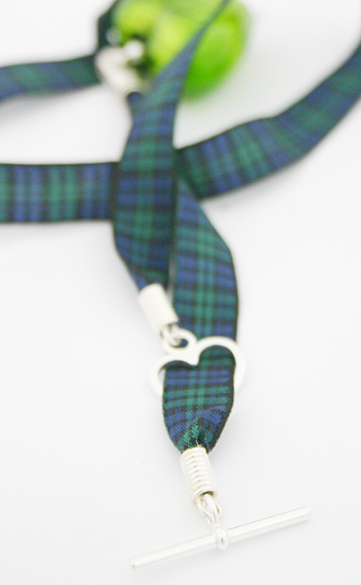 Colour: Emerald & Black Watch