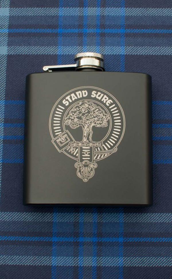 The Light Infantry Regiment version 6oz engraved Hip Flask