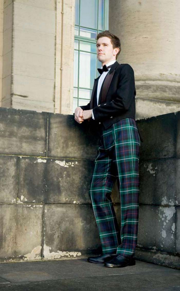 Fishtail Back Tartan Trews | CLAN by Scotweb
