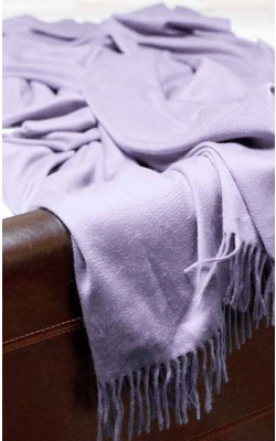Our Warmest Softest Scottish Cashmere Throw