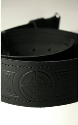 Classic Kilt Belt, Celtic Knot design