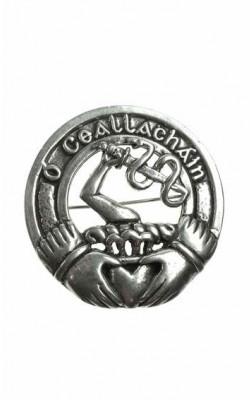 Irish Clan Cap Badge