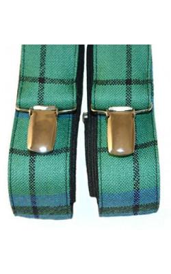 Tartan Wool Braces