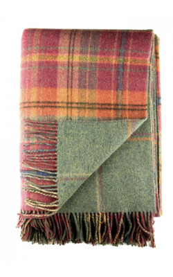 Lambswool Reversible Blanket