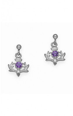 Thistle Drop Earrings ‑ CE9