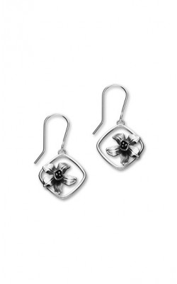 Birth Flowers Drop Earrings ‑ July ‑ E1865