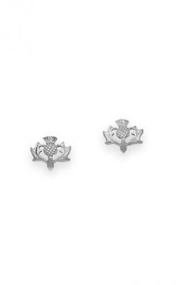 Thistle Stud Earrings ‑ E58