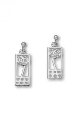 Charles Rennie Mackintosh Drop Earrings ‑ E625