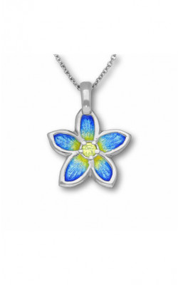 Happy Valley Pansy Pendant ‑ ECP15