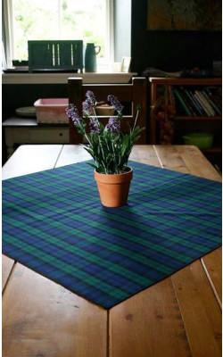 Square Tartan Tablecloth