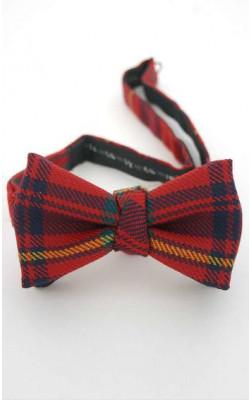 Luxury Adjustable Tartan Bow Tie