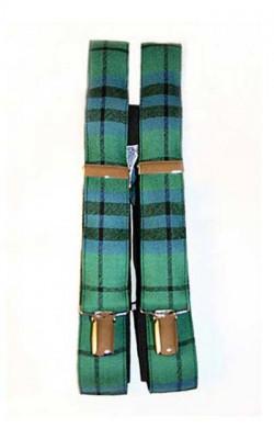 Luxury Tartan Wool Braces