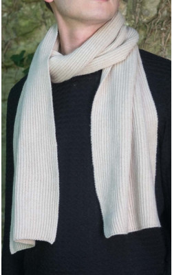 Knitted Classic Scottish Cashmere Scarf