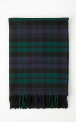 Cashmere Tartan Blanket