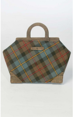 D.C. Dalgliesh Exclusive: Large Framed Tartan Handbag