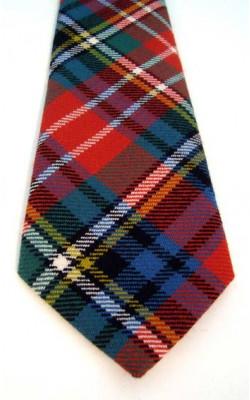 Luxury Handmade Tartan Tie
