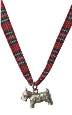 Child's Scottie Dog Silver Necklace