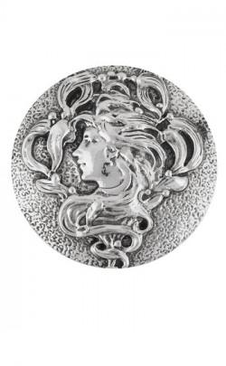 Art Nouveau Lady Purse Mirror