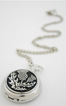 Scottish Thistle Pocket Watch