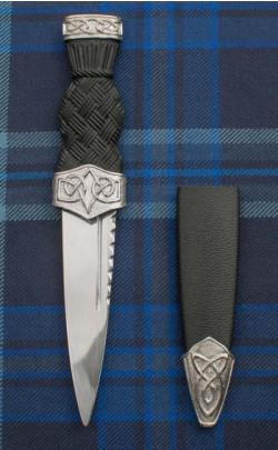 Celtic Knot Sgian Dubh
