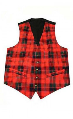 Essential Scotweb Gent's Tartan Waistcoat
