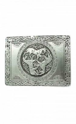 Wallace Antique Silver Inverurie Buckle