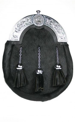 Classic Clan Crest Dress Sporran