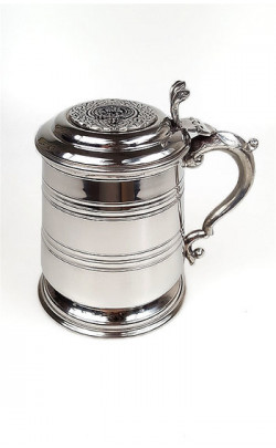 Clan Crest Pewter Pint Tankard