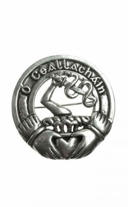 Irish Clan Cap Badge