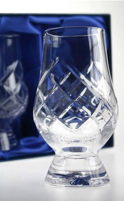 Cut Crystal Whisky Glass Set