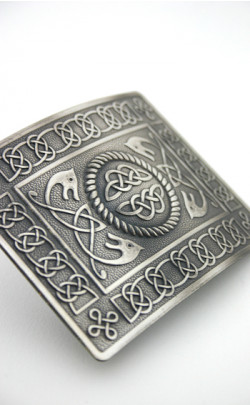 Highland Serpent Belt Buckle