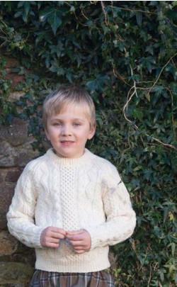 Boy's Aran Sweater