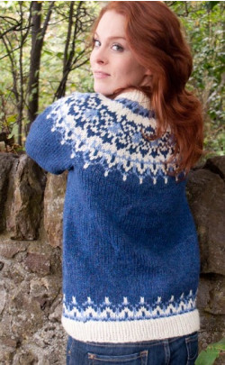 Luxury Hand‑Knitted Icelandic Jersey, Odin