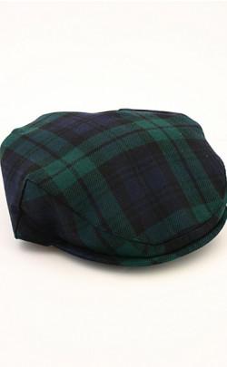 Classic Tartan Flat Cap
