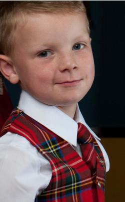 Classic Boy's Tartan Tie
