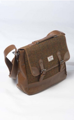 Harris Tweed Stornoway Briefcase