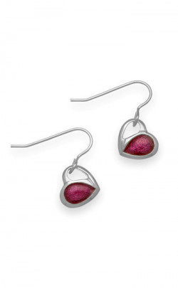 Hearts Drop Earrings ‑ EE489
