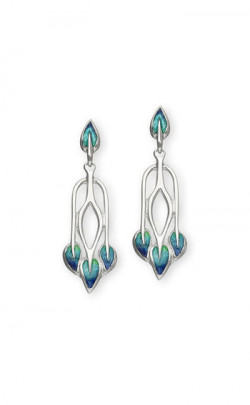 Charles Rennie Mackintosh Earrings ‑ EE48