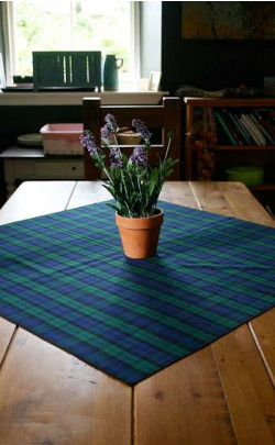 Square Tartan Tablecloth