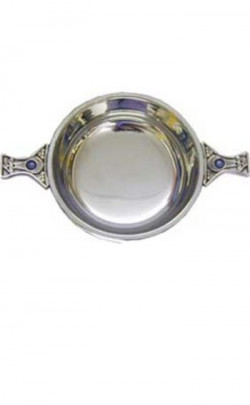 Celtic Gemset Handle Quaich