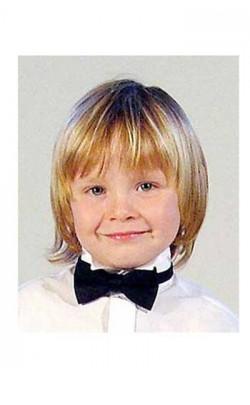 Boy's Black Bow Tie