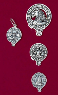 Clan Crest Silver Charm
